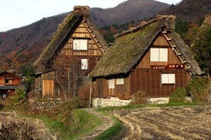 Inagische Häuser. (Japan)
